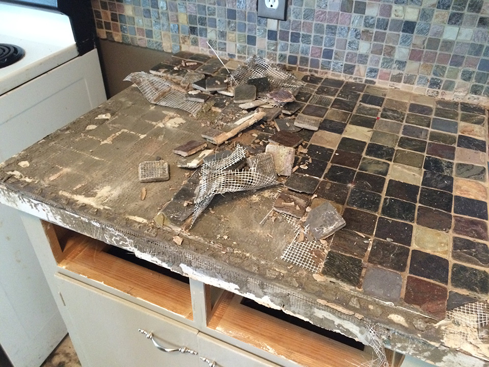 amazing how to remove kitchen countertops pictures - home design